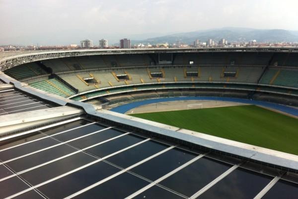 pulizia fotovoltaico bentegodi - verona