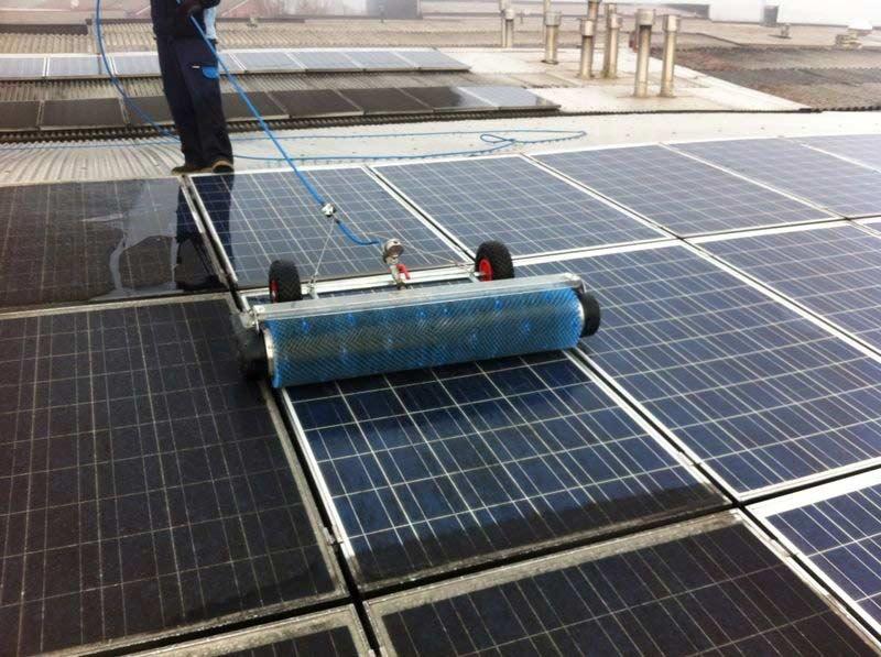 come si sporcano i pannelli fotovoltaici