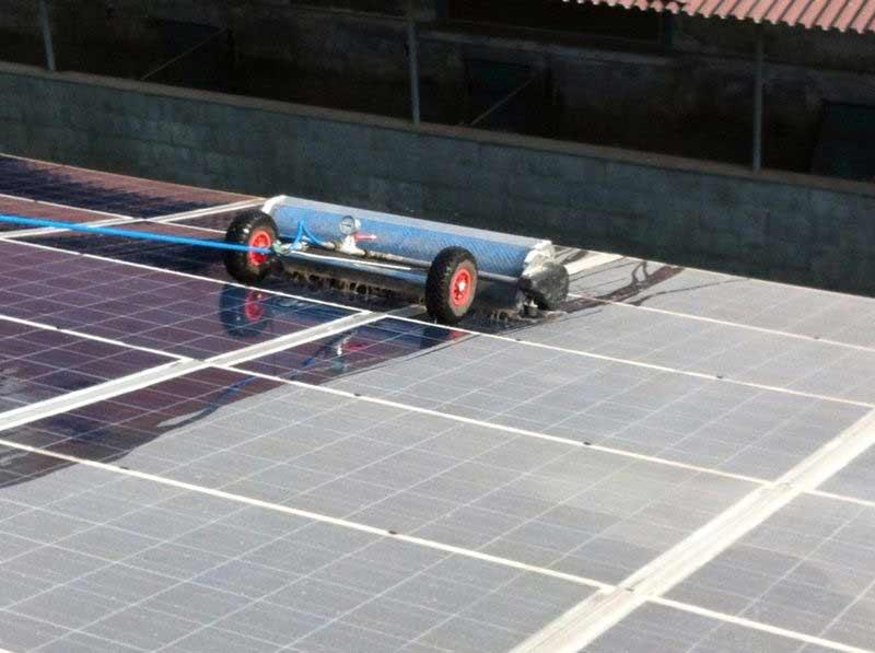 perchè eseguire la pulizia dei pannelli solari