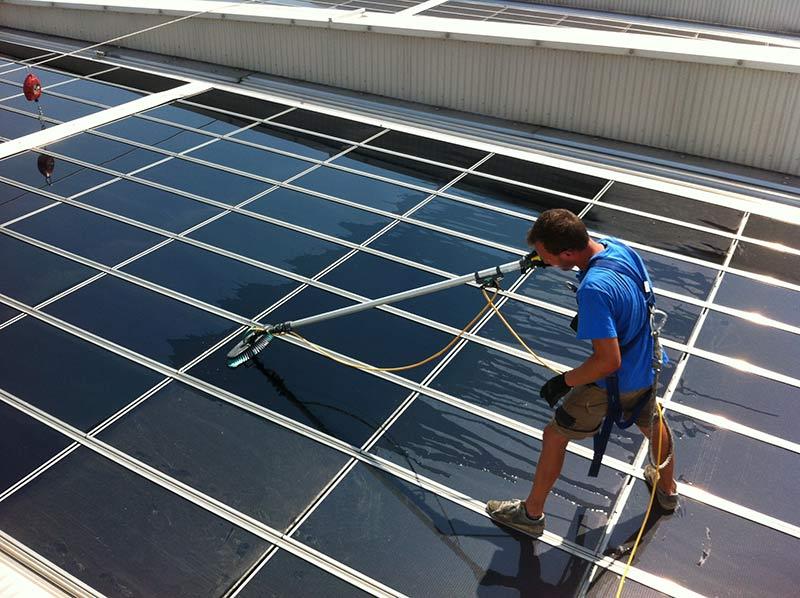 pulizia pannelli solari bentegodi verona