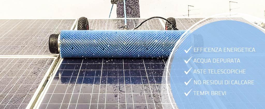 pulizia pannelli fotovoltaici a verona
