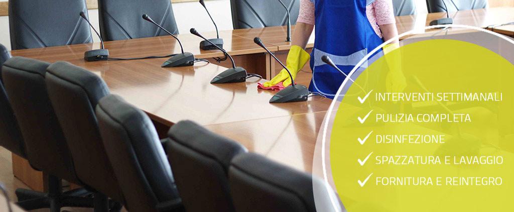 pulizie uffici verona