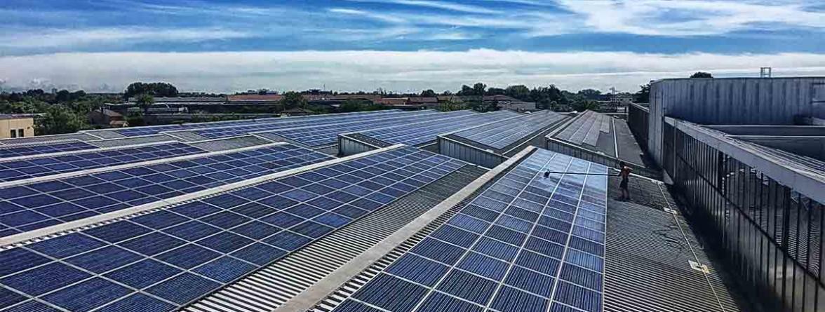 pannelli fotovoltaici industriali