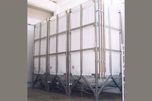 Sanificazione dei silos