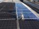 Pulizia fotovoltaico smog