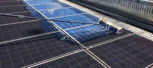 spazzole rotanti Costa pulire pulizia fotovoltaico