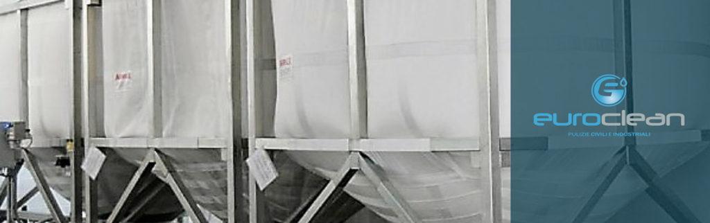 Sanificazione silos Trevira