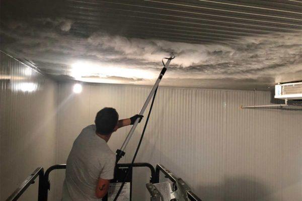 Pulizia celle frigo a vapore Pulizia industria alimentare sanificazione celle frigo
