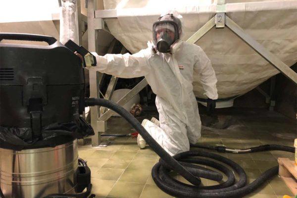 Sanificazione Silos Trevira Sanificazione ambienti di lavoro