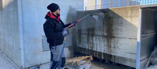 Muretti in cemento