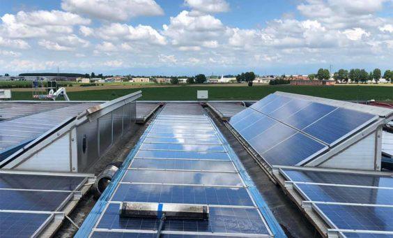 regolare pulizia pannelli fotovoltaici