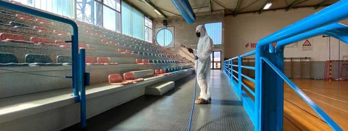 Sanificazione impianti sportivi