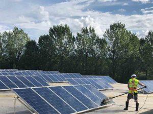 impianto fotovoltaico a Legnago